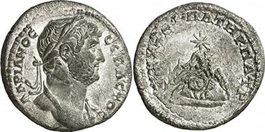 HADRIANUS. Didrachme. Ex Gorny & Mosch 186 lot n. 1662. 6,52 g.