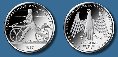 Die neue 20-Euro-Münze