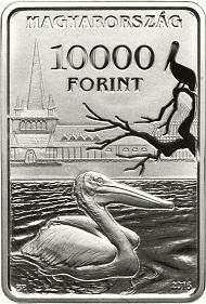 Hungary / 10,000 Forint / Silver .925 / 31.46g / 39.6mm / Design: Gábor Kereszthury / Mintage: 3,000.
