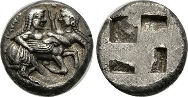 Madedonien, Stater, ca. 500 v. Chr.