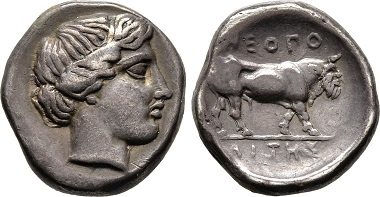 Kampanien, Didrachme 450/420 v. Chr.