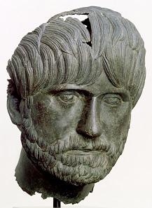 Portrait Head of a Bearded Man. Roman, mid-3rd century. Bronze. SBMA, Gift of Wright S. Ludington.