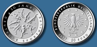 20-Euro-Gedenkmünze
