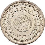 Lot 289: 20 Francs, 1956, Silver, Mintage 303, Fdc, R (rev). CHF 500.