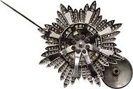 Lot 1012: Orden. Bruststern des St. Katharinen-Ordens, aus der Manufaktur von Fabergé in St. Petersburg. CHF 75.000.