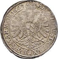 Lot 4118: Taler 1603. Budweis Mint. FDC. CHF 2,000.