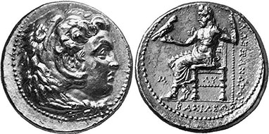 ALEXANDER III. Tetradrachme. Ex Hauck & Aufhaeuser 19 n. 40. 17,03 g.