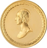 Obverse and reverse of the medal.