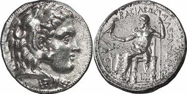 ALEXANDER III. Tetrachdrachme. Ex Gorny & Mosch 155 n. 77. 17,20 g.
