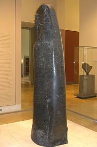 Der Codex Hammurapi. Heute Louvre / Paris. Foto: KW.