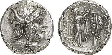 Seleukos I., 312-281. Tetradrachme, Susa, nach 305/4. Aus Auktion Gorny & Mosch 236 (2016), 572.