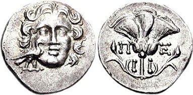 MYLASA. Drachme. Ex Triton X n.341. 2,16 g.
