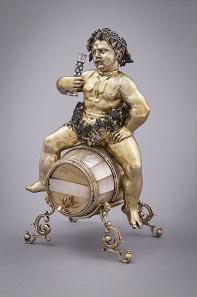 Bacchus als Trinkgeschirr, Meinrad d. I. Bauch, Nürnberg, um 1590-1602, Grünes Gewölbe. © Staatliche Kunstsammlungen Dresden, Foto: Pykado, Dresden.
