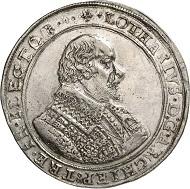 Nr. 1583: TRIER. Lothar von Metternich, 1599-1623. Reichstaler 1617, Koblenz. Ausbeute der Vilmarer Gruben. Äußerst selten. Fast vorzüglich. Taxe: 12.500 GBP