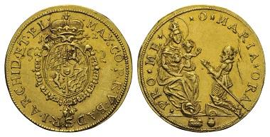 Lot 605: Bavaria. Maximilian I (1597-1651). 2 Ducats, 1642, Munich.