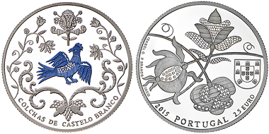 Portugal was the winner in the category 'Silver coin of the year'.