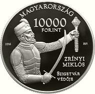 Hungary / 10,000 HUF / .925 Ag / 31.46g / 38.61mm / Borbála Szanyi / Mintage: 5,000.
