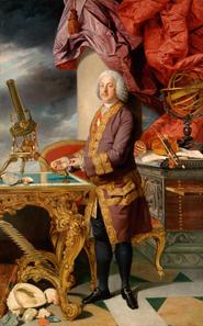 Johann Zoffani (1733-1810), Herzog Franz Stephan I. von Lothringen (1708-1765), 1776/77. Leinwand 232 x 149 cm. © KHM-Museumsverband.