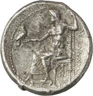 Nr. 163: ALEXANDER III., 336-323 (Makedonien). Dekadrachme, 325/3 Babylon. Äußerst selten. Sehr schön. Taxe: 25.000,- Euro. Zuschlag: 54.000,- Euro.