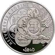 Hungary / 10,000 Forint / Silver .925 / 38,61mm / 31.46g / Design: István Kósa / Mintage: 5,000.