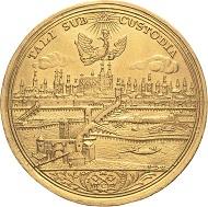 Los 1935: Regensburg. 5 Dukaten o.J. (Busch/Öxlein/Körnlein). 17,23 g. Sehr selten. Fast vorzüglich. Schätzpreis: 9.000 Euro.