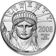Der American Platinum Eagle. Foto: US-Mint.