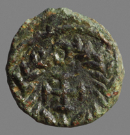 Coin from the time of emperor Hilderic (523-518). Photo: ÖAW-IKAnt/Nikolaus Schindel.