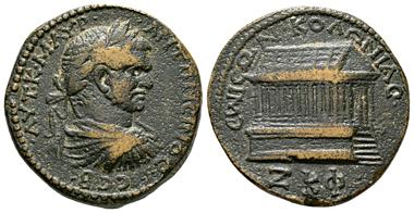 Lot 72: Caracalla (198-217), Syria, Seleucis and Pieria, Emesa.