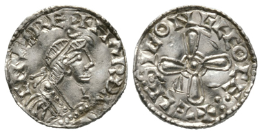 Lot 467: England, HARTHACNUT Joint king (1035-7). Sole reign (1040-2). Silver penny, Moneyer: Aelfsige.