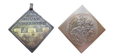 Bautzner Ratsprämien-Medaille. Quelle: Numismatischer Verein Bautzen e.V.