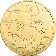 France / 50 euros / 1/4oz .920 gold / 8.45g / 22mm / Mintage: 1,000.