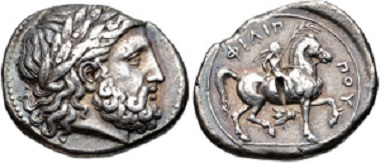 Lot 80: KINGS of MACEDON. Alexander III 'the Great'. 336-323 BC. AR Tetradrachm. From the estate of Thomas Bentley Cederlind. VF. Estimate: 300 USD.