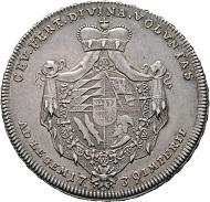 Los: 1263: DEUTSCHLAND. Württemberg. Karl Friedrich 1738-1744. Taler 1739. R. f. vzgl. Startpreis: 4.200 EUR.