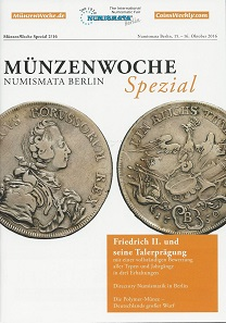Cover of MünzenWoche Spezial.