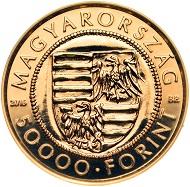 Hungary / 50,000 HUF/ .986 Au / 3.491 g / 20mm / Designer: Soltra E. Tamas.