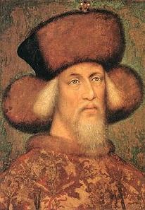 Sigismund of Luxembourg. Artist: Pisanello (c. 1395 - c. 1455). Source: Wikipedia.