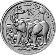 Kamerun / 1000 Francs / Silber .999 / 1 Unze / 38,2 mm / Design: Victor Huster.