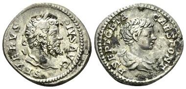 Lot 568: Septimius Severus, 193-211. Denarius, circa 20. From the E.E. Clain Stefanelli collection. Very Fine. Starting Bid: 120 GBP.