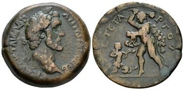 Lot 299: Egypt. Alexandria. Antoninus Pius, 138-161. Drachm, circa 140-141. Good Very Fine. From the Dattari collection. Starting Bid: 300 GBP.