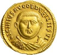 Los 460: Licinius I., 308-324. Aureus, 321/2, Nikomedia. Äußerst selten. Vorzüglich. Schätzpreis: 40.000 Euro. Startpreis: 24.000 Euro.