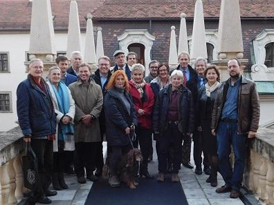 Führung durch das Landhaus mit Landesrätin Mag. Ursula Lackner, Foto: UMJ.