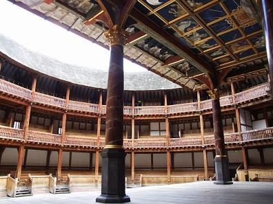 Rekonstruktion des Globe Theatre. Foto: Tohma / GFDL.