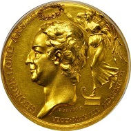 Lot 25: Lord Anson Medal