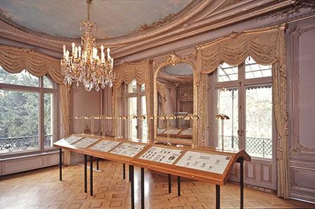 Ein stimmungsvoller Rahmen, der große Ausstellungssaal des Winterthurer Münzkabinetts.