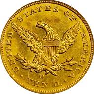 Lot 2153: USA. Liberty Eagle 1852-O. MS-60 (PCGS). Sold: 111,625 USD.
