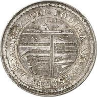 Los 1152: Braunschweig-Calenberg. Johann Friedrich, 1665-1679. Doppelter Reichstaler 1678, Clausthal, aus der Ausbeute der Grube Herzog Johann Friedrich. Dickstück. Äußerst selten. Sehr schön bis vorzüglich. Taxe: 6.000 GBP. Zuschlag: 13.000 GBP.
