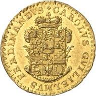 Los 1111: Braunschweig-Wolfenbüttel. Karl Wilhelm Ferdinand, 1780-1806. Dukat 1783, Braunschweig.