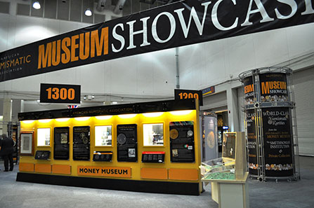 The ANA Museum Showcase.