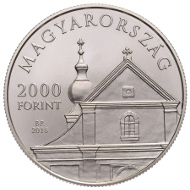 Hungary / 2,000 HUF / Cupro-Nickel / 23.7g / 37mm / Design: Zoltan Toth/ Mintage: 10,000.