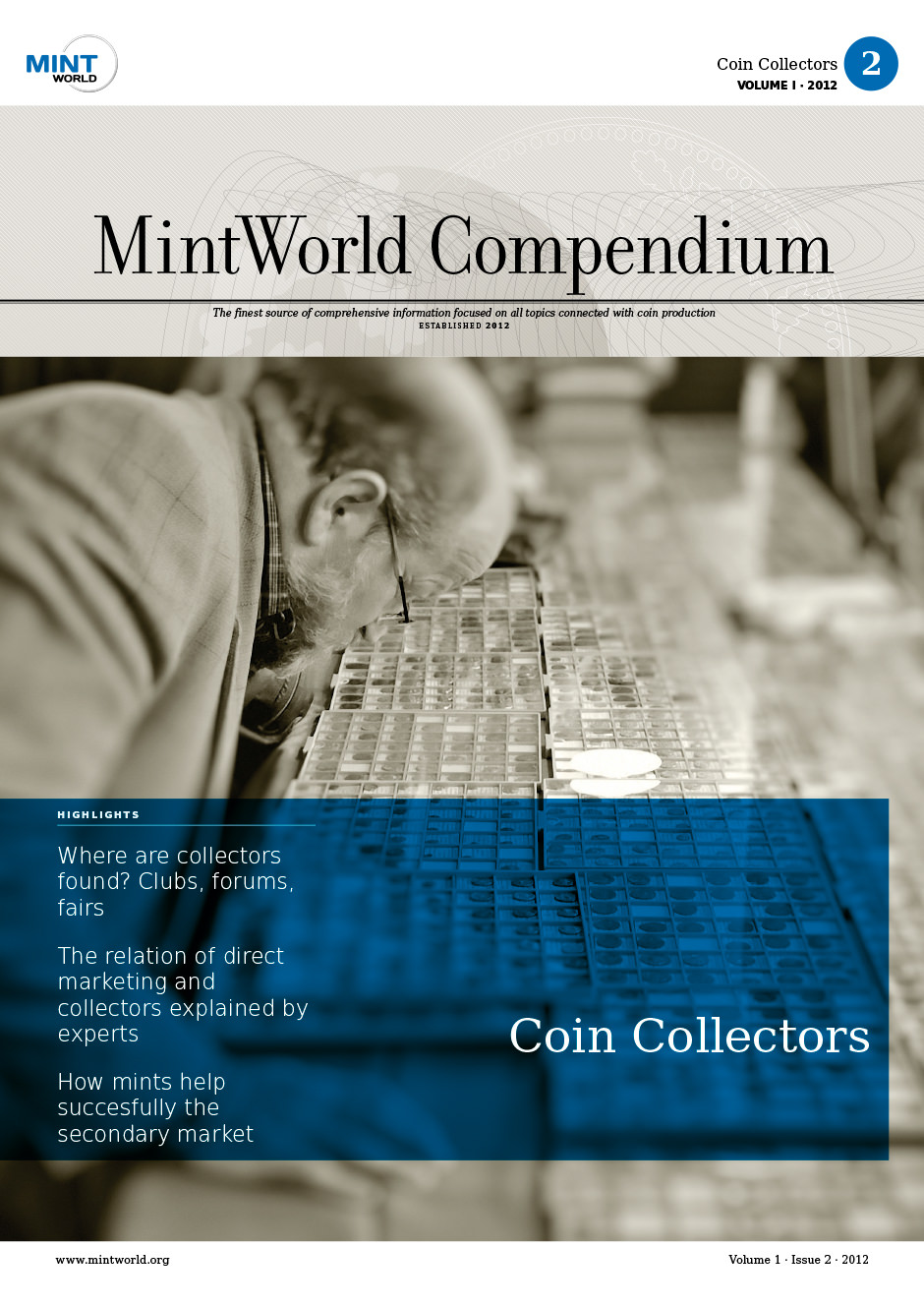 MintWorld Compendium, Compendium 1 · Issue 2 · 2012, Coin Collectors,